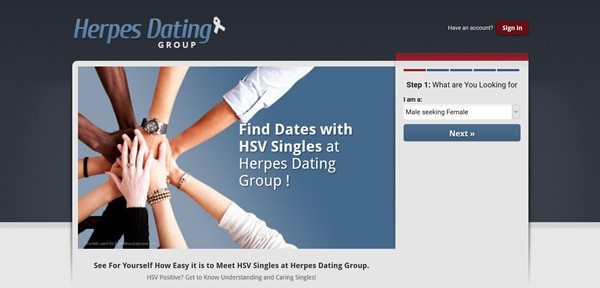 herpes dating group